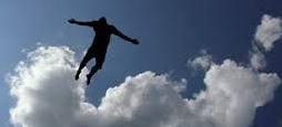 Flygande man